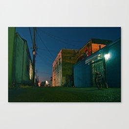 Tacoma urban alley Canvas Print