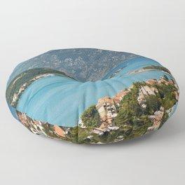 Bay Of Kotor Floor Pillow