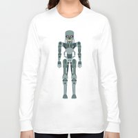 terminator Long Sleeve T-shirts featuring Terminator Vector by TIERRAdesigner
