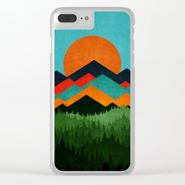 Chill Sunny Day ||| Clear iPhone Case