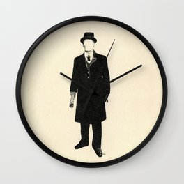 The Old One Percent  Wall Clock