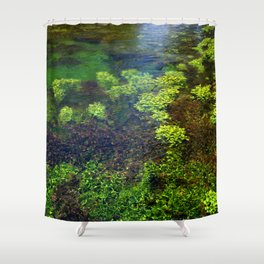 Giant Springs - Great Falls, Montana Shower Curtain