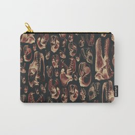 Carnivore RED MEAT / Animal skull illustrations from the top of the food chain Carry-All Pouch