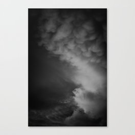Coulds of Smoke Canvas Print