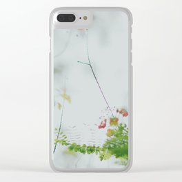 flower photography by chuttersnap Clear iPhone Case