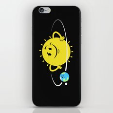 The Whole World Revolves Around Me iPhone Skin
