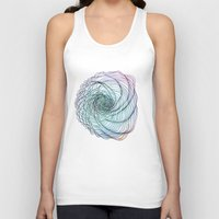 ghost in the shell Tank Tops featuring Shell by Brontosaurus