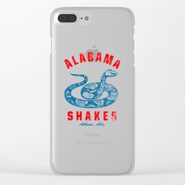 ALABAMA SHAKES ATHENS Clear iPhone Case