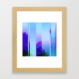 Lucid Waves Framed Art Print