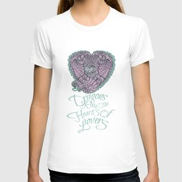 Dragons Rule the Heart of Lovers T-shirt