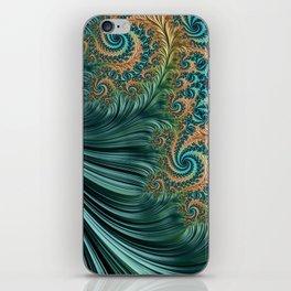 Peacock iPhone Skin