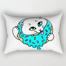 Donut Puss Rectangular Pillow