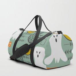 Mid-century spooky pattern Duffle Bag