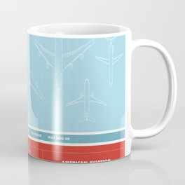 America aviation Coffee Mug