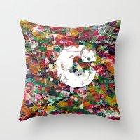 randy c Throw Pillows featuring C.. by barmalisiRTB