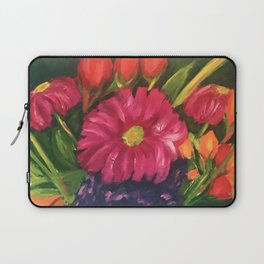 Blooms Gone Wild Laptop Sleeve