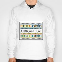 african Hoodies featuring African beat by mike lett