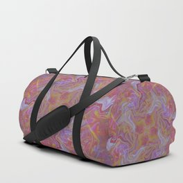 Fluid Abstract 16; Electric Shock Duffle Bag