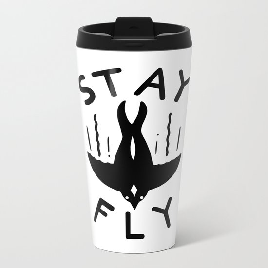 ST\Y FLY Metal Travel Mug