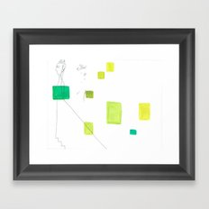 paper_5 Framed Art Print