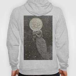 AROUND THE MOON - EMILE-ANTOINE BAYARD Hoody