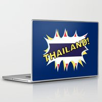 thailand Laptop & iPad Skins featuring Thailand by mailboxdisco