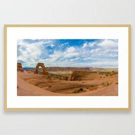 Delicate Arch - Arches National Park - Utah Framed Art Print