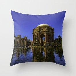 Palace Of Fine Arts - San Francisco Throw Pillow