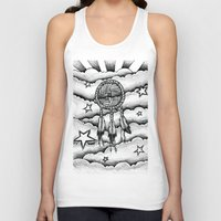 dream catcher Tank Tops featuring Dream catcher by DeMoose_Art