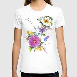 Gather Roses T-shirt