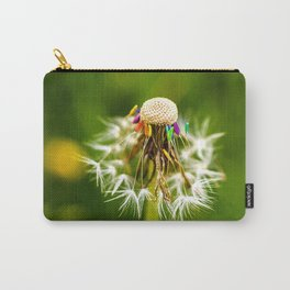 Rainbow dandelion seeds Carry-All Pouch