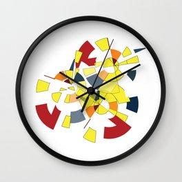 Geometric Mood Wall Clock
