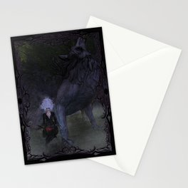 Lycan Howl Stationery Cards