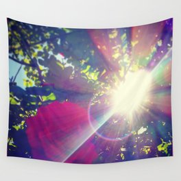Petals of Light Wall Tapestry