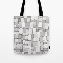 Stone Wall #4 - Grays Tote Bag