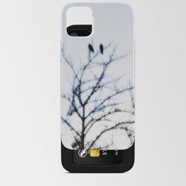 Crow iPhone Card Case
