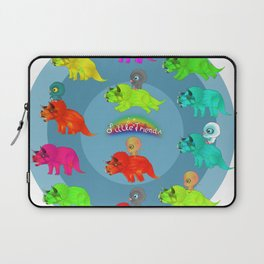 Triceratops Baby Laptop Sleeve