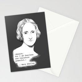 Mary Shelley - Beware Stationery Cards