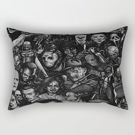 Famous movie characters Rectangular Pillow