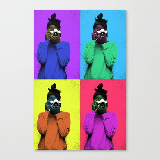 The Warhol Affect Canvas Print