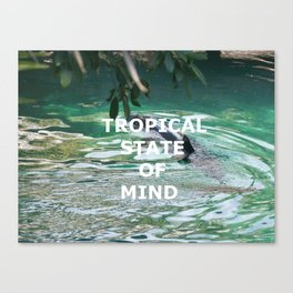 Tropical State Of Mind Canvas Print