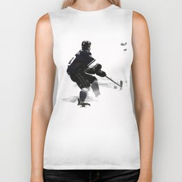 The Deke - Hockey Player Biker Tank