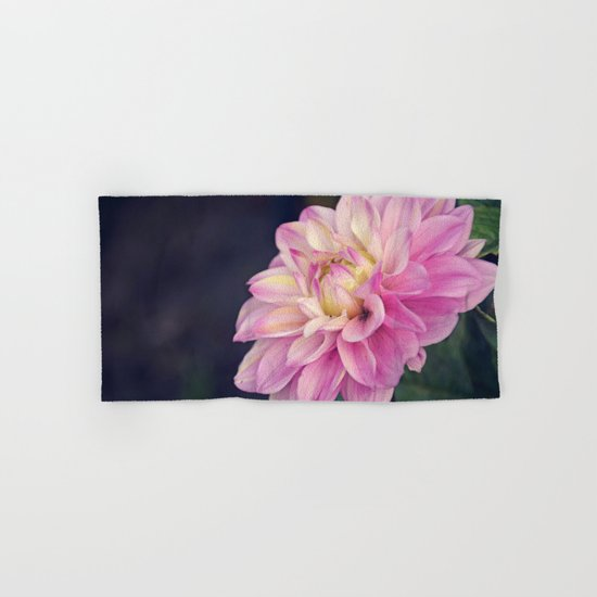 Pink sweet dahlia Hand & Bath Towel