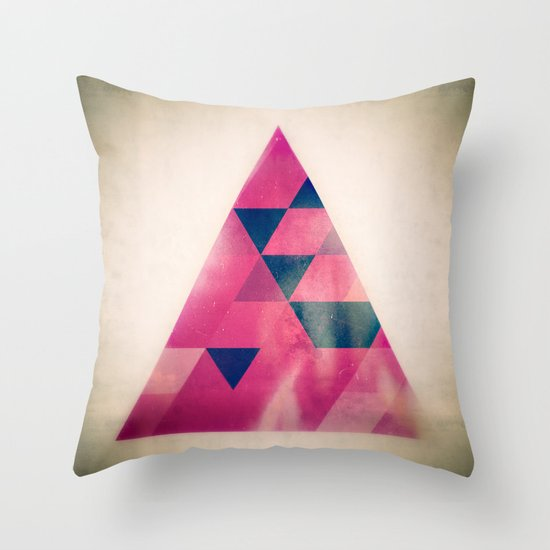 TRYYNGL LYT Throw Pillow
