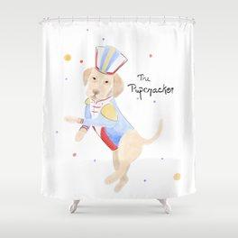 The Pupcracker Shower Curtain