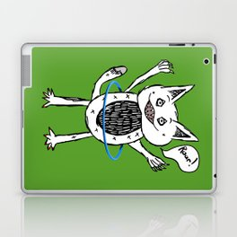 Monster Hula Hoop Laptop & iPad Skin