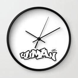 Human Being Grafik Wall Clock