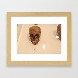 the土热  Framed Art Print