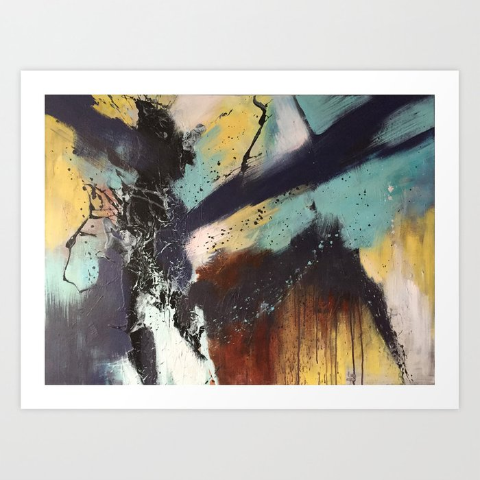 Executed Actions Art Print
