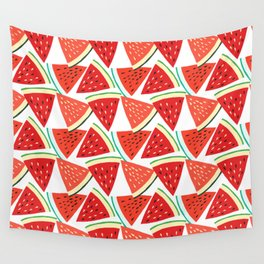 Sliced Watermelon Wall Tapestry